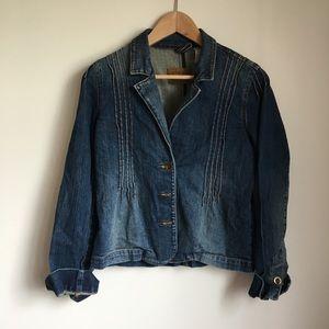 Levi's denim button down jean jacket